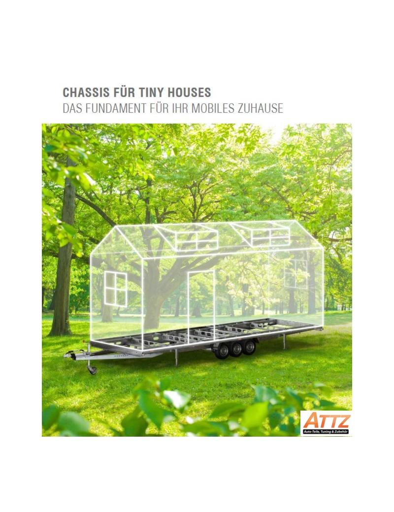 Tieflader für Tinyhouse